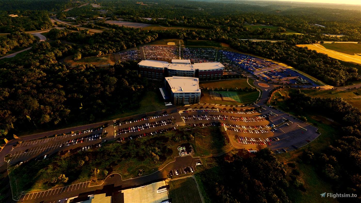Pittsburgh International ( KPIT ) Cargo Area Scenery Pack 04