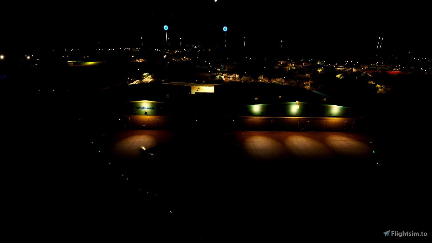 Pittsburgh International ( KPIT ) Terminal & Tarmac Lighting Scenery Pack 03