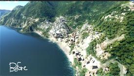 Salerno: Positano Microsoft Flight Simulator