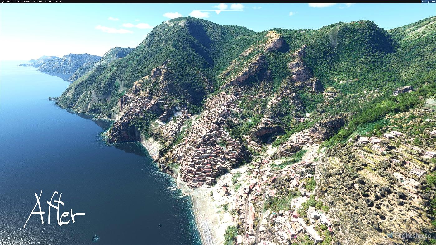 Salerno: Positano
