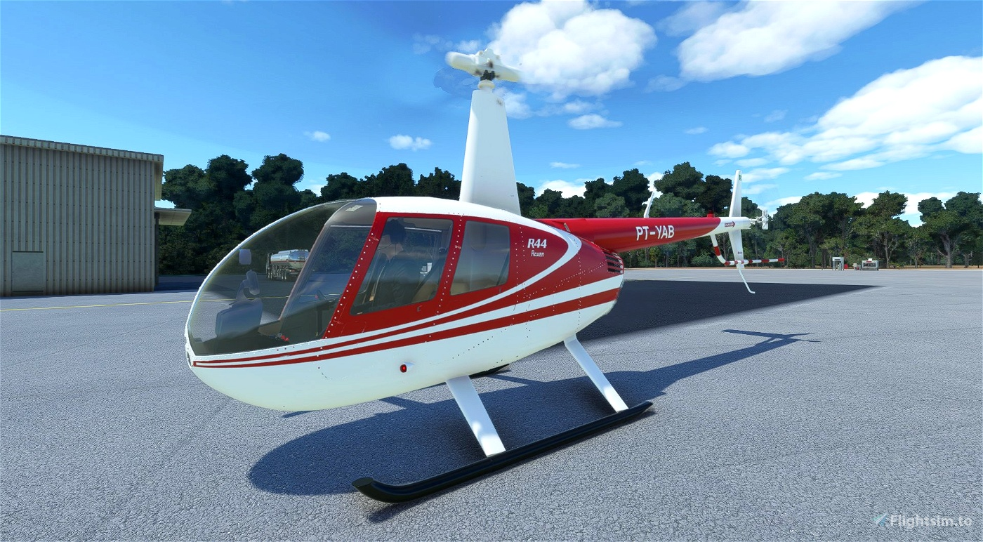 PT-YAB | R44 Raven II Alpha 2.0 Microsoft Flight Simulator