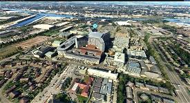 Queen Elizabeth university hospital Glasgow (V2) Microsoft Flight Simulator