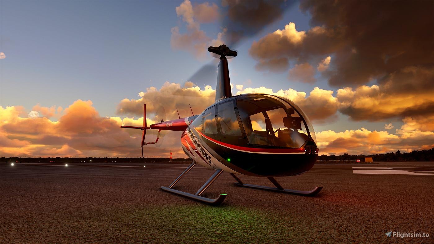 RSP Robinson R44 HA-FTX 8K