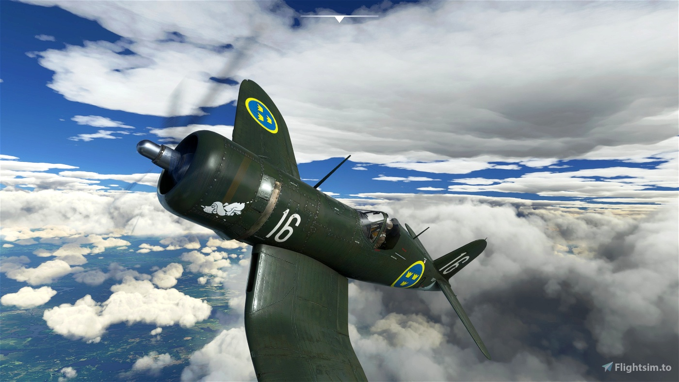 "SAAB B17BL "" Moppe"" Tribute Microsoft Flight Simulator"