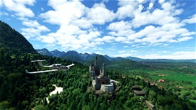 South German Castle Tour Microsoft Flight Simulator