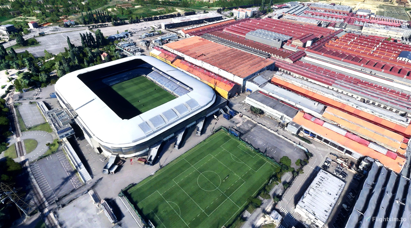Stade Bonal - Sochaux - France Microsoft Flight Simulator