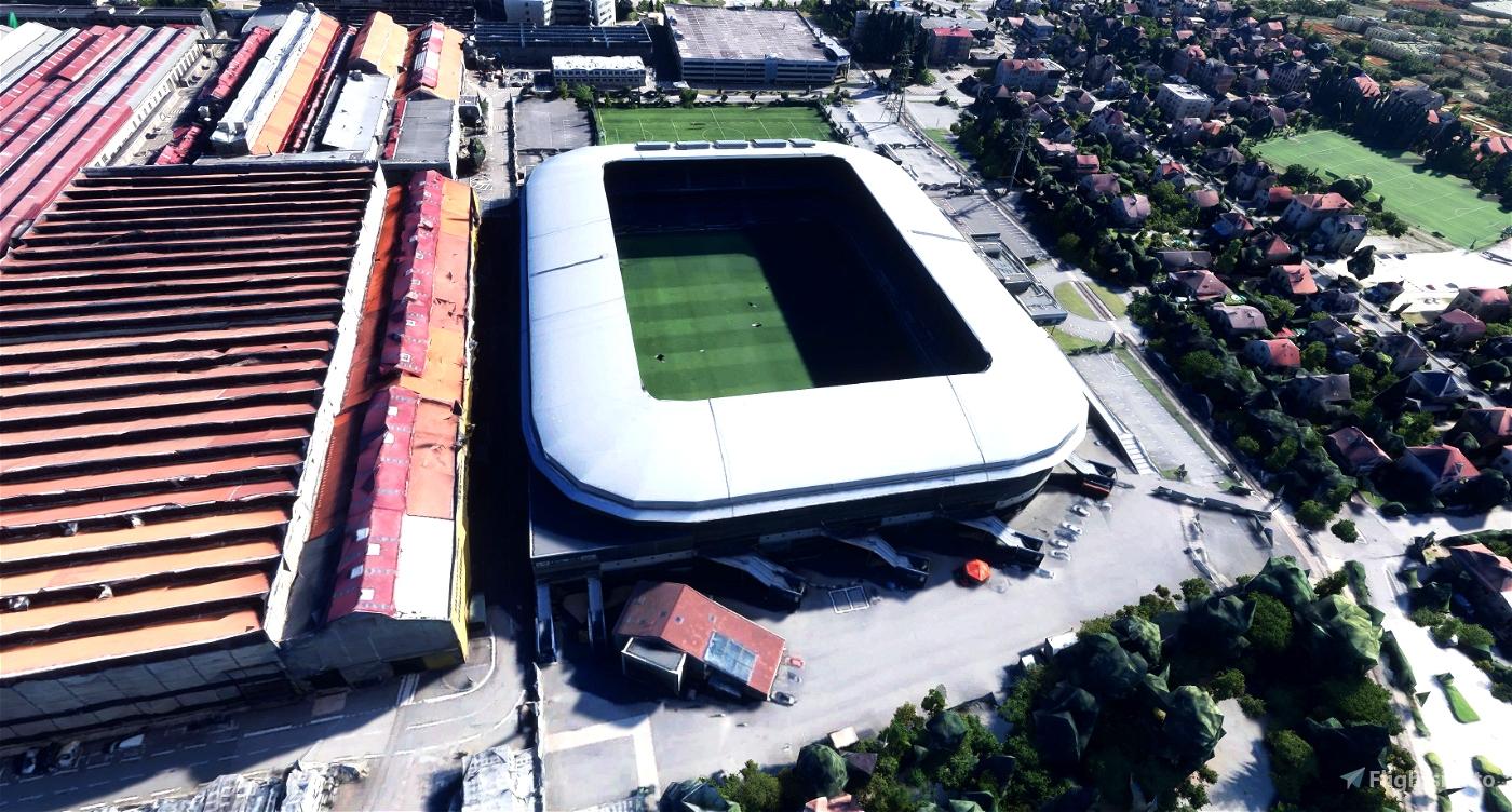 Stade Bonal - Sochaux - France