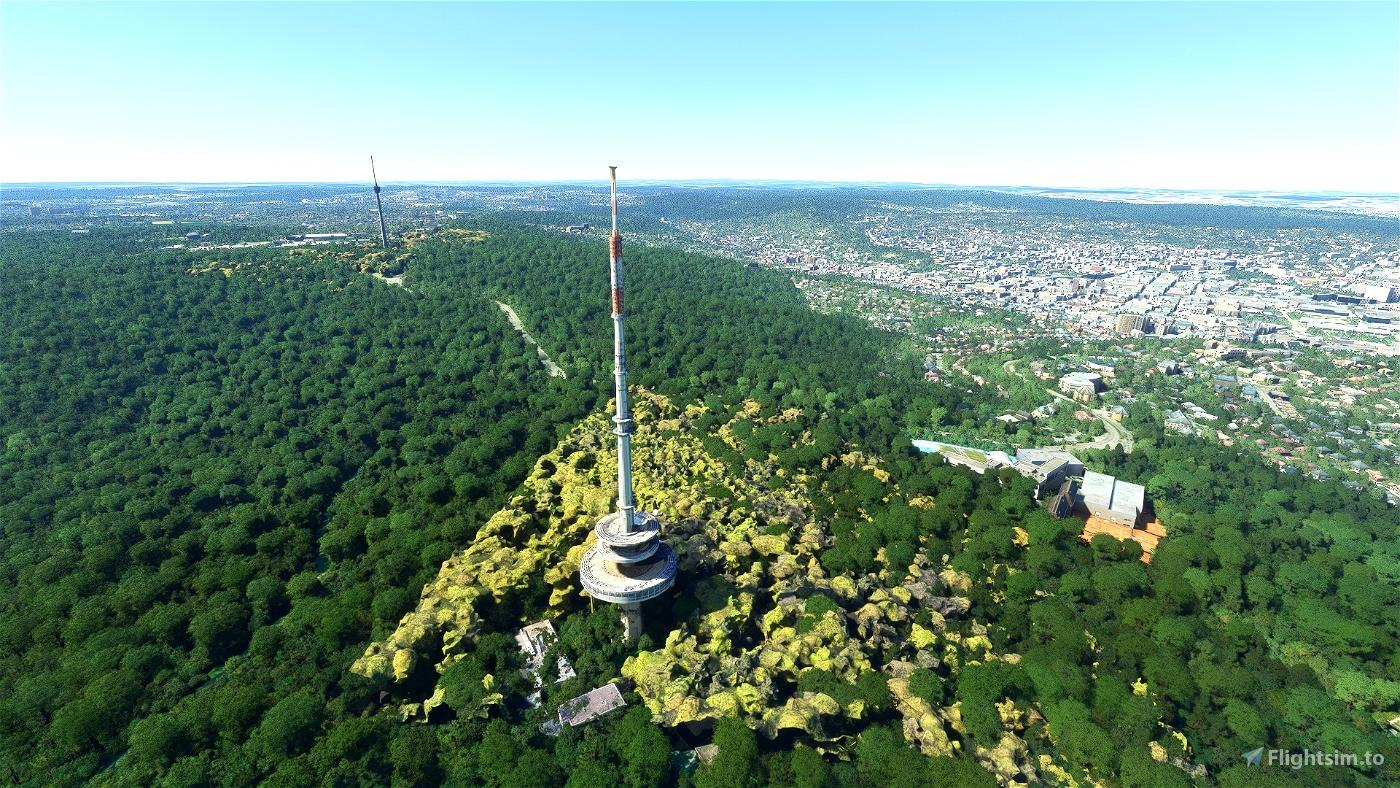 Stuttgart - Fernsehturm + Funkturm