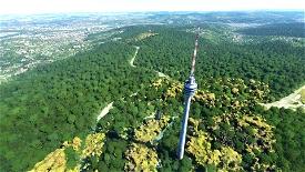 Stuttgart - Fernsehturm + Funkturm Microsoft Flight Simulator