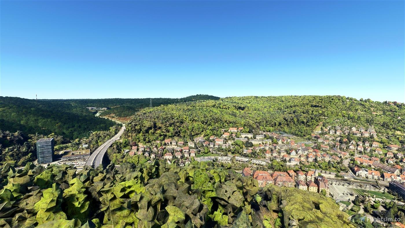 Stuttgart - Part I Microsoft Flight Simulator