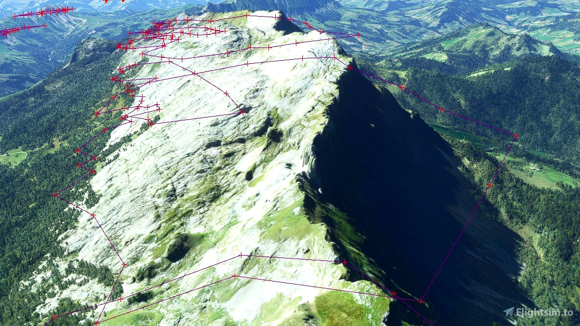 Swiss mountains tree fix (trees on mountains removed)