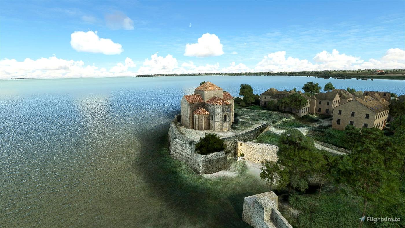 Talmont-sur-Gironde Microsoft Flight Simulator