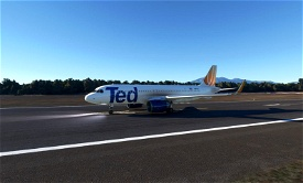 Ted (United Airlines) livery for FBW A32NX Microsoft Flight Simulator