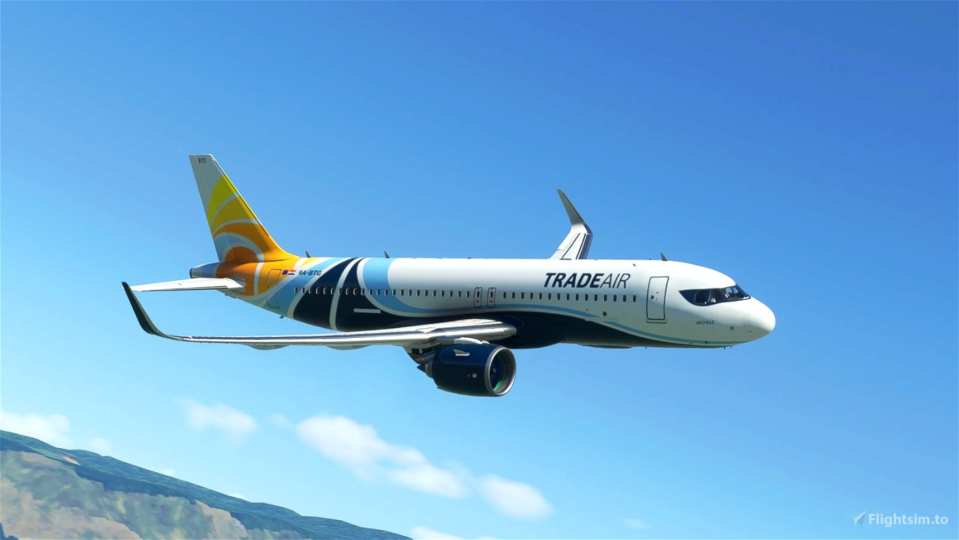 [A32NX] Trade Air [4K] Microsoft Flight Simulator