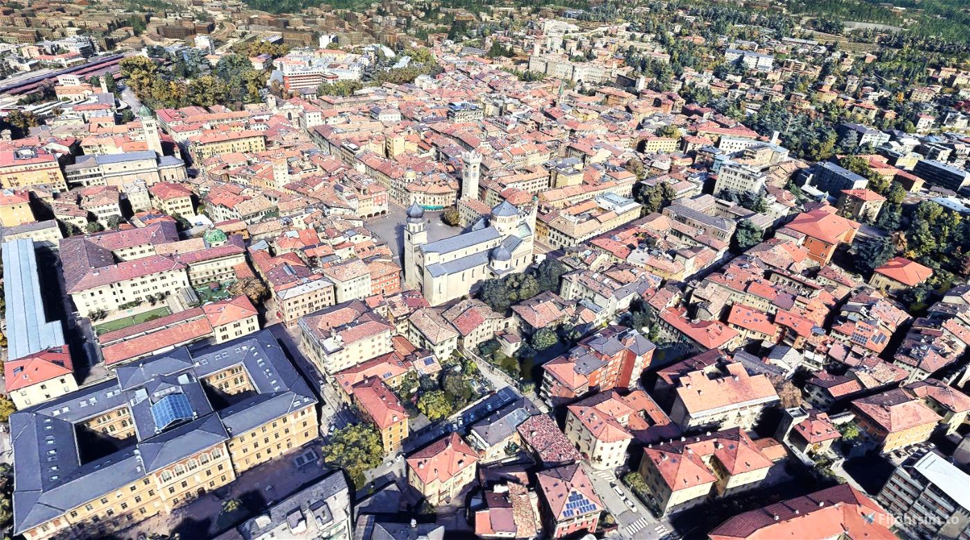 Trento - Historic Center - Italy