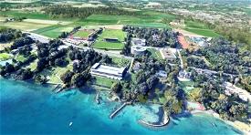 UEFA building and surroundings - Nyon - Switzerland Microsoft Flight Simulator
