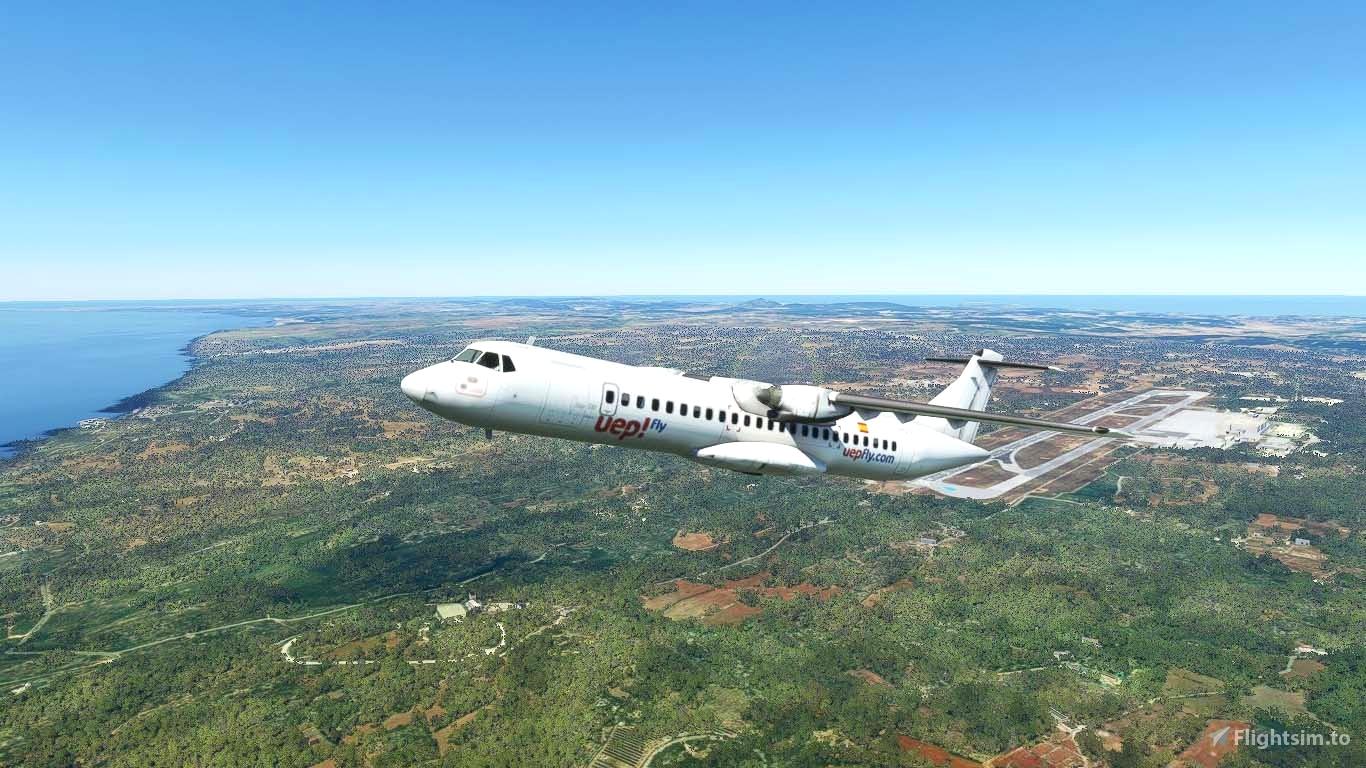 Uep! Fly ATR 72-600 (for Community Version) Microsoft Flight Simulator