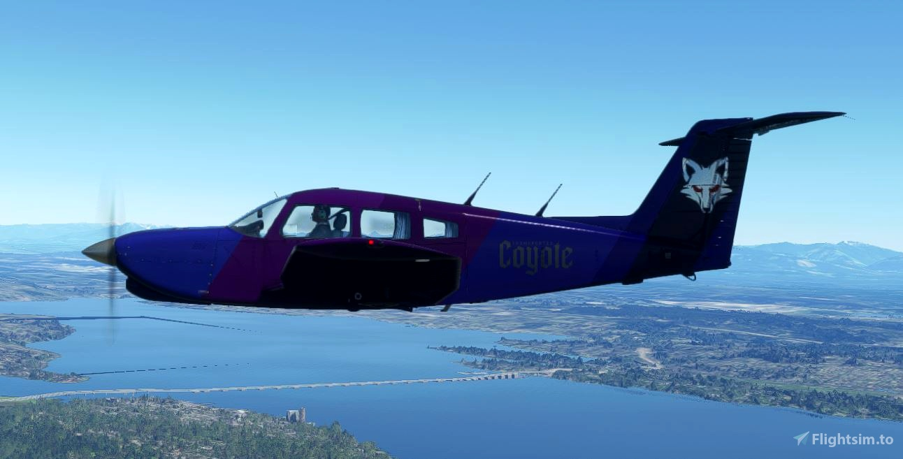 Un-Official Transportes Coyote JF PA-28R Arrow Turbo IV Livery Pack