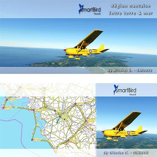 (Bush Trip) Voyage en région nantaise entre terre et mer Microsoft Flight Simulator