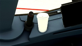White cup for A32NX (Paint kit) Microsoft Flight Simulator