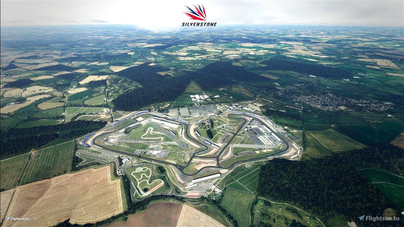 Silverstone Motorsport Circuit UK & Heliport Microsoft Flight Simulator