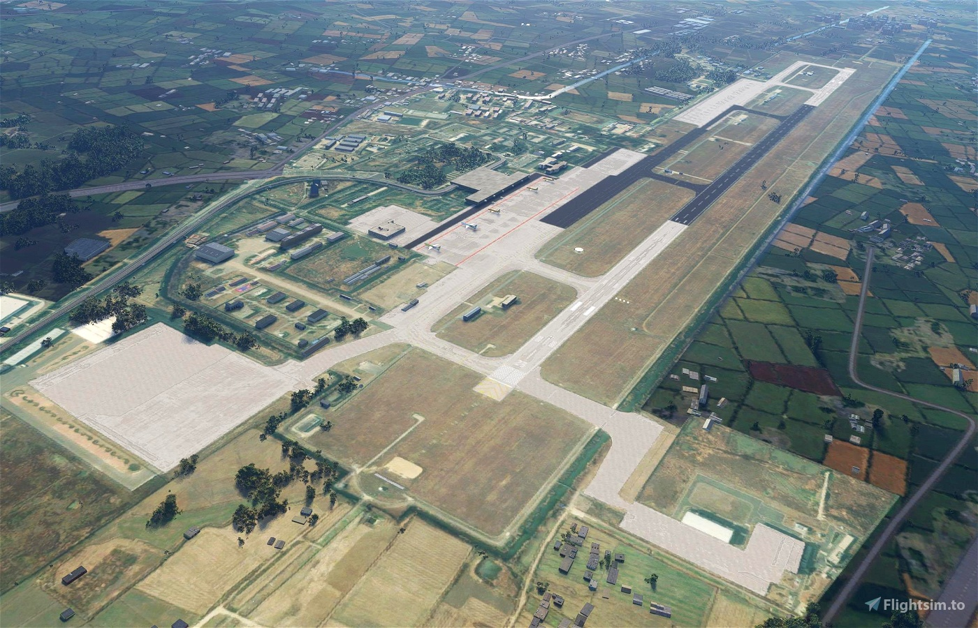 ZSCG - Changzhou Benniu International Airport Microsoft Flight Simulator