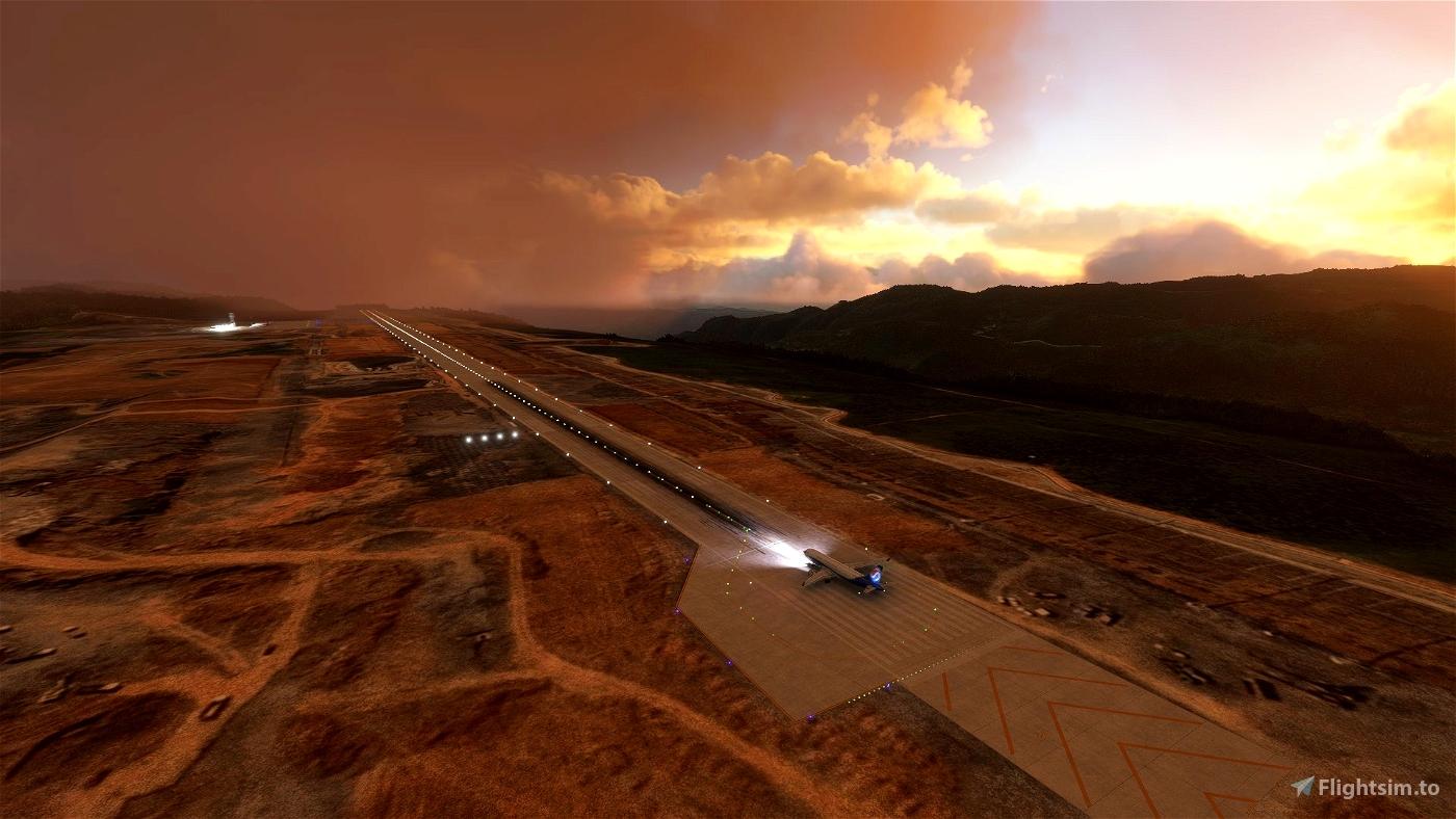 [ZUWL] Chongqing Xiannvshan Airport Microsoft Flight Simulator