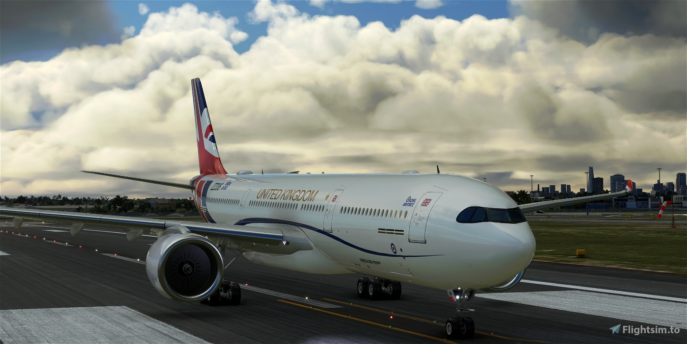 A330-900neo RAF Voyager Livery (Fictional)