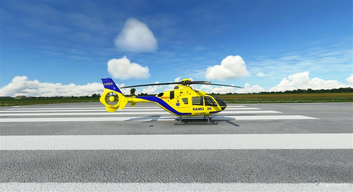 Airbus H135 - SAMU 30 - 10/2021 Microsoft Flight Simulator