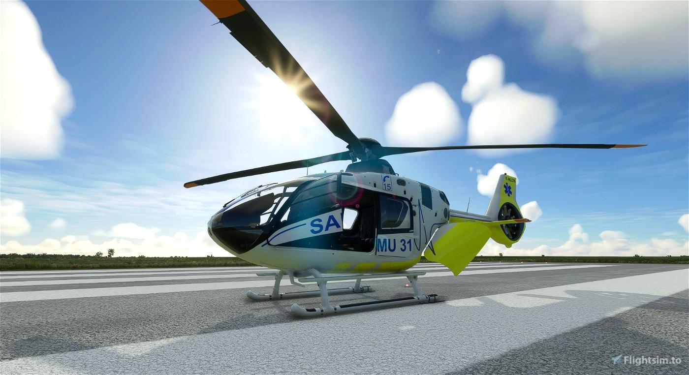 Airbus H135 - SAMU 31 - 10/2021