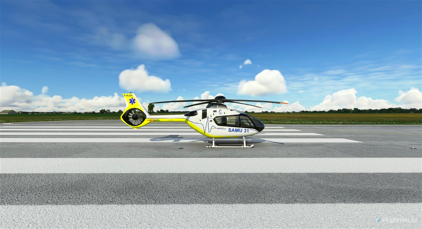 Airbus H135 - SAMU 31 - 10/2021 Microsoft Flight Simulator
