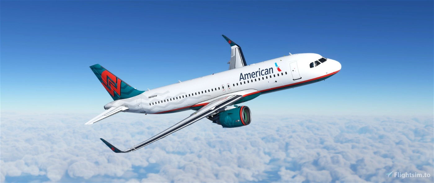 America West Heritage [FBW A32NX] Microsoft Flight Simulator