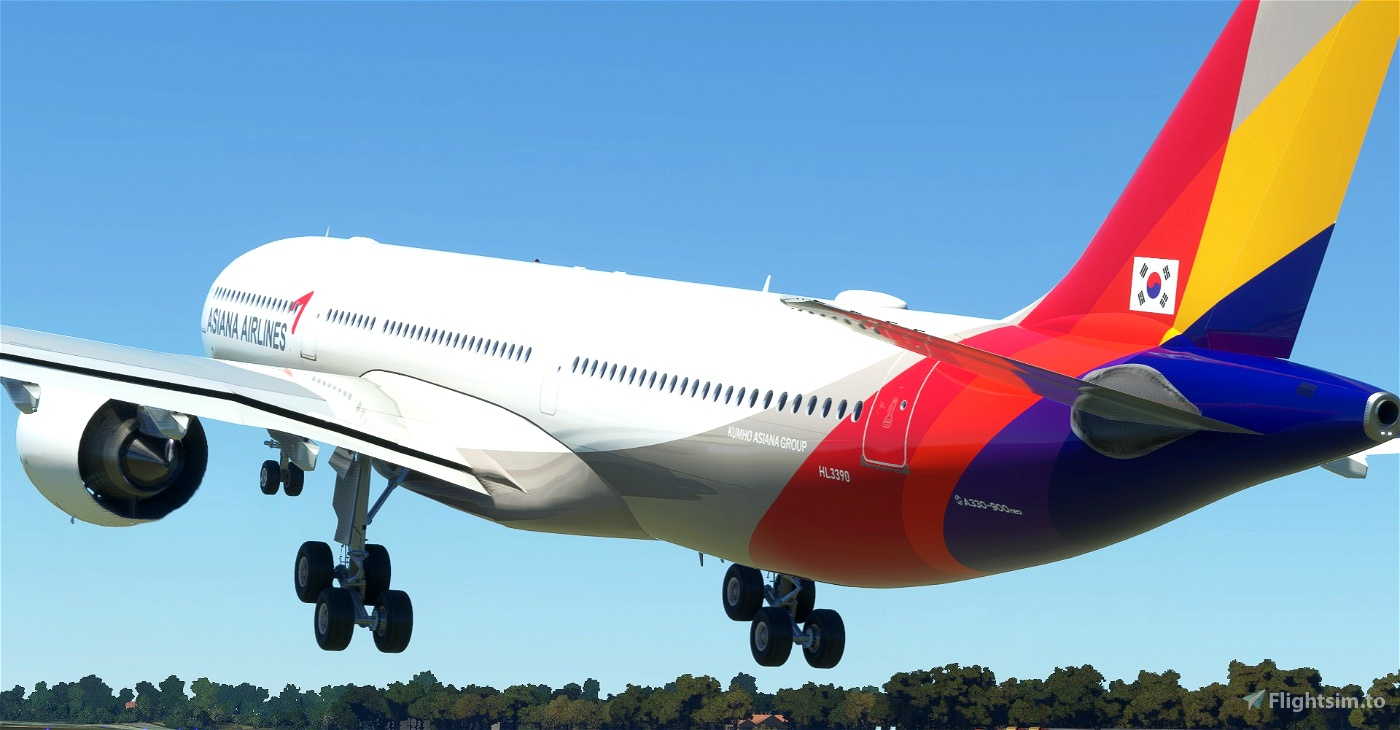 Asiana Airlines Headwind A330-900