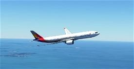 Asiana Airlines Headwind A330-900 Microsoft Flight Simulator