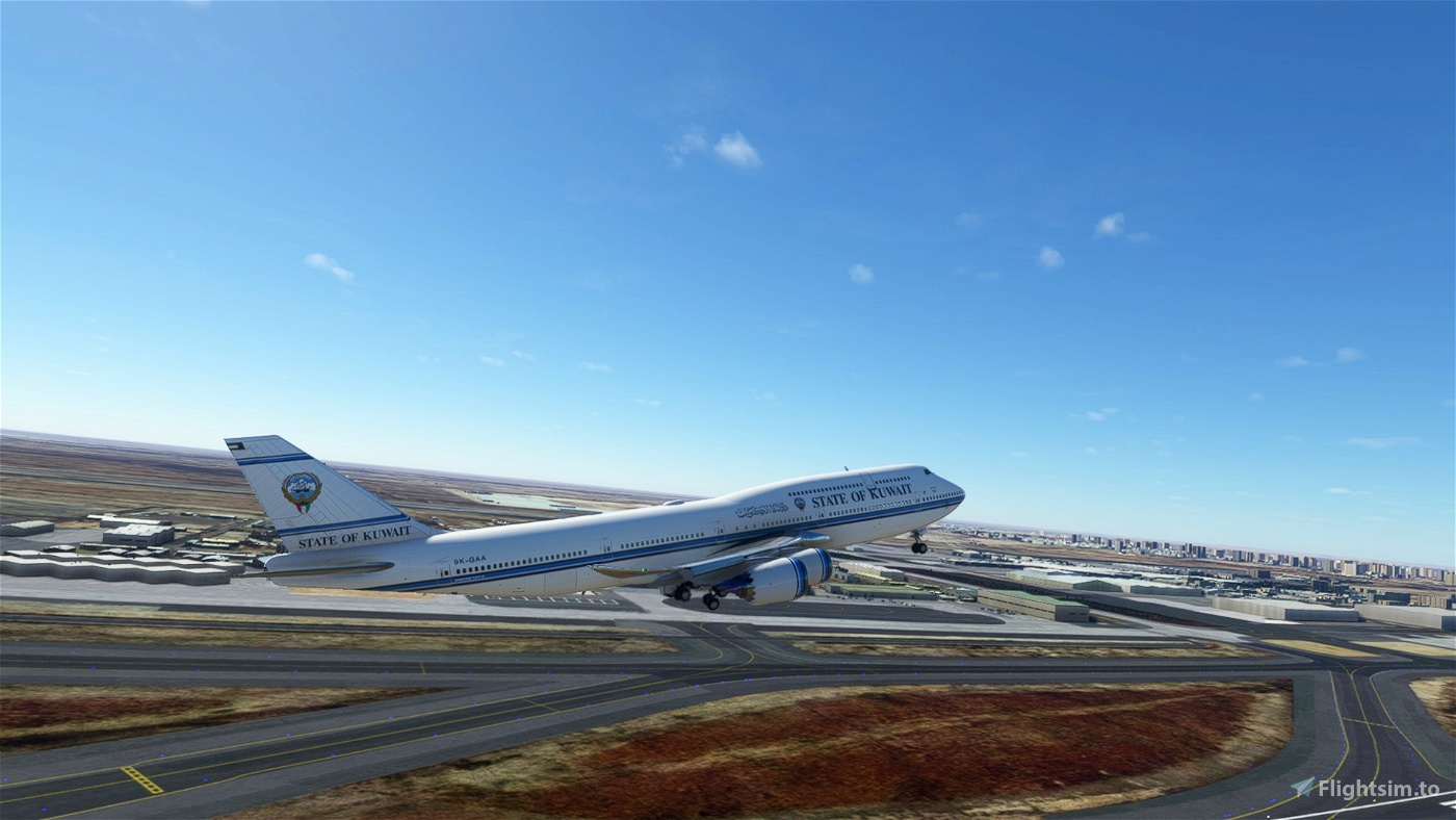 Asobo 747-8i State of Kuwait [No mirroring]