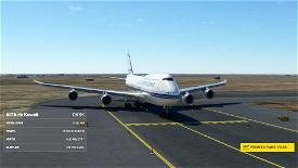 Asobo 747-8i State of Kuwait [No mirroring] Microsoft Flight Simulator