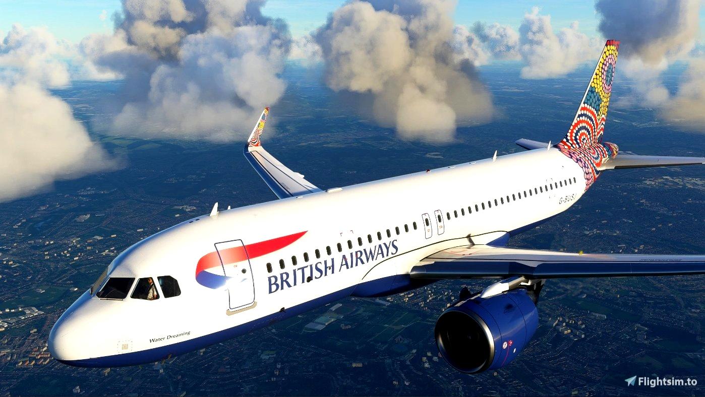 "British Airways ""Water Dreaming"" - FBW A32NX"