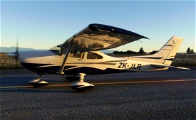 Carenado CT182T Skylane ZK-JLR (Private, New Zealand) Microsoft Flight Simulator