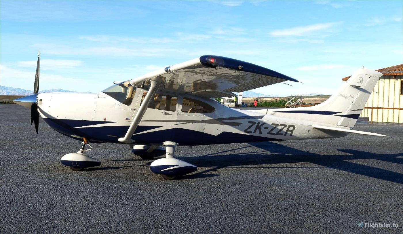 Carenado CT182T Skylane ZK-ZZR (Private, New Zealand) Microsoft Flight Simulator