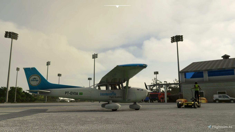 Cessna 172 Classic Everyair Flight Academy Microsoft Flight Simulator