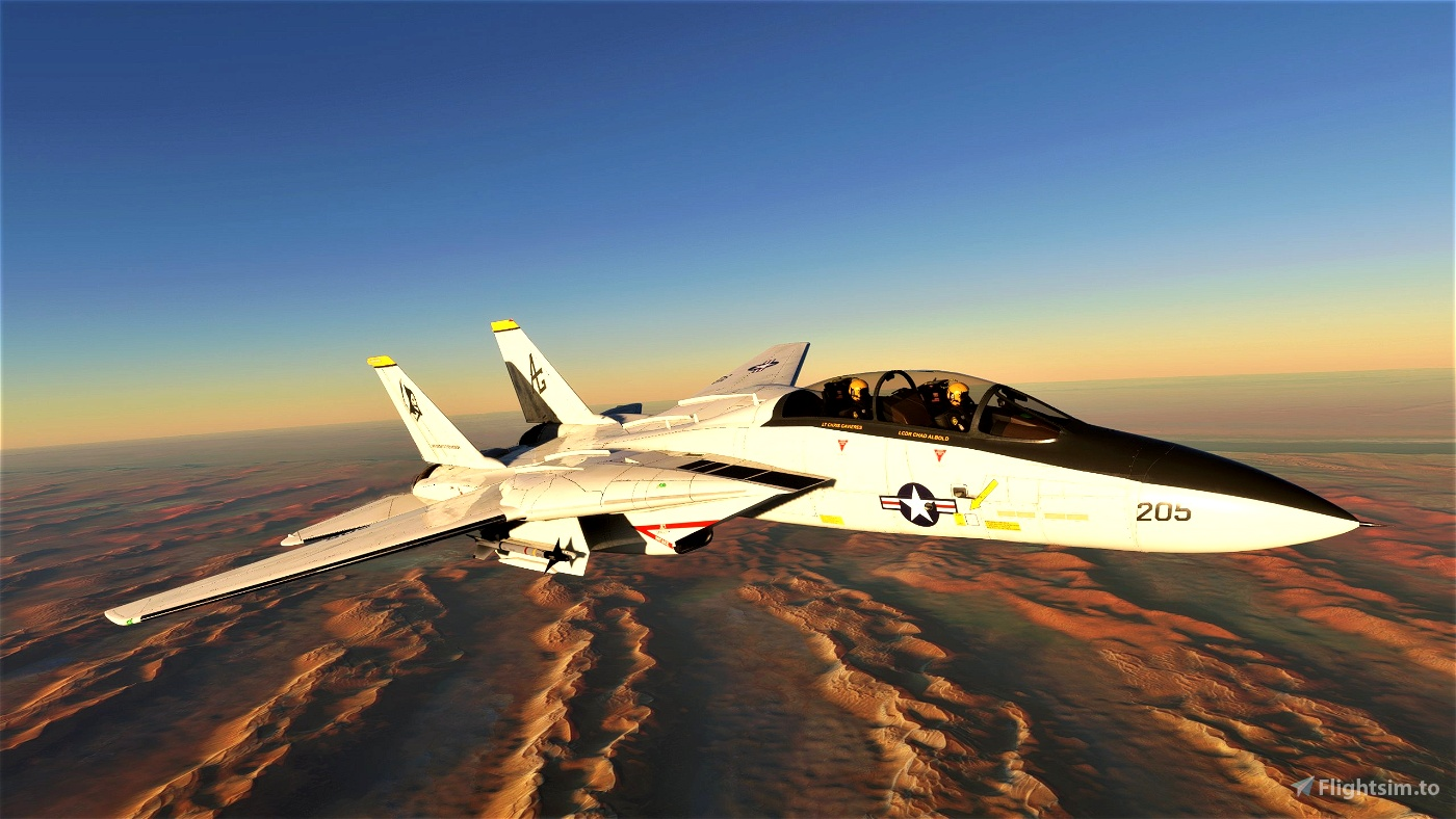 """DCD F-14A VF-142 """"Ghostriders"""" (Livery Only)"""