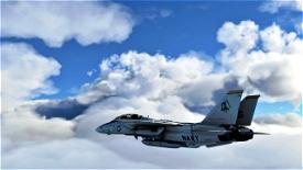 "DCD F-14A VF-142 ""Ghostriders"" (Livery Only) Microsoft Flight Simulator"