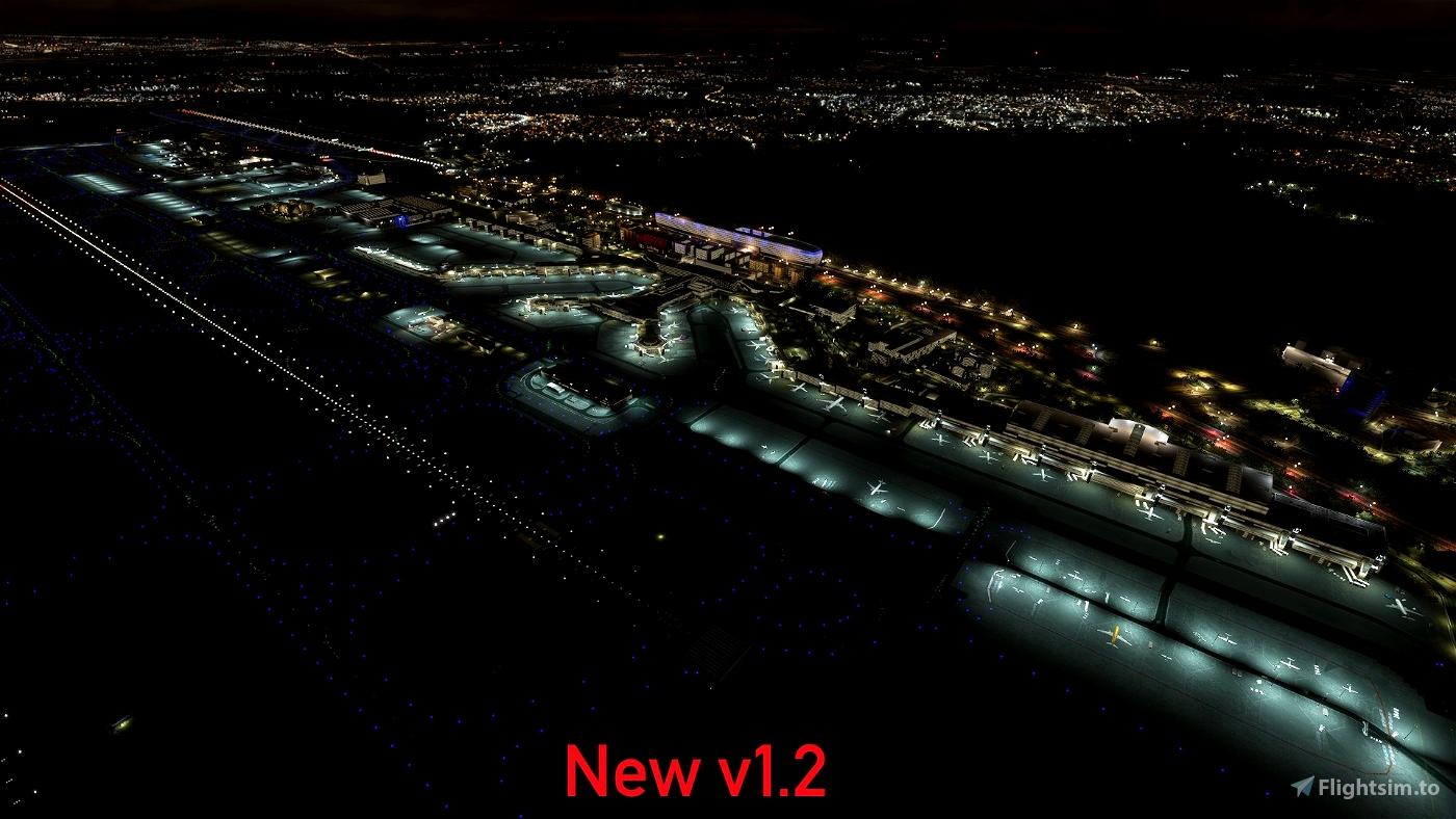 EDDF - Light enhancement mod (for Premium version airport)