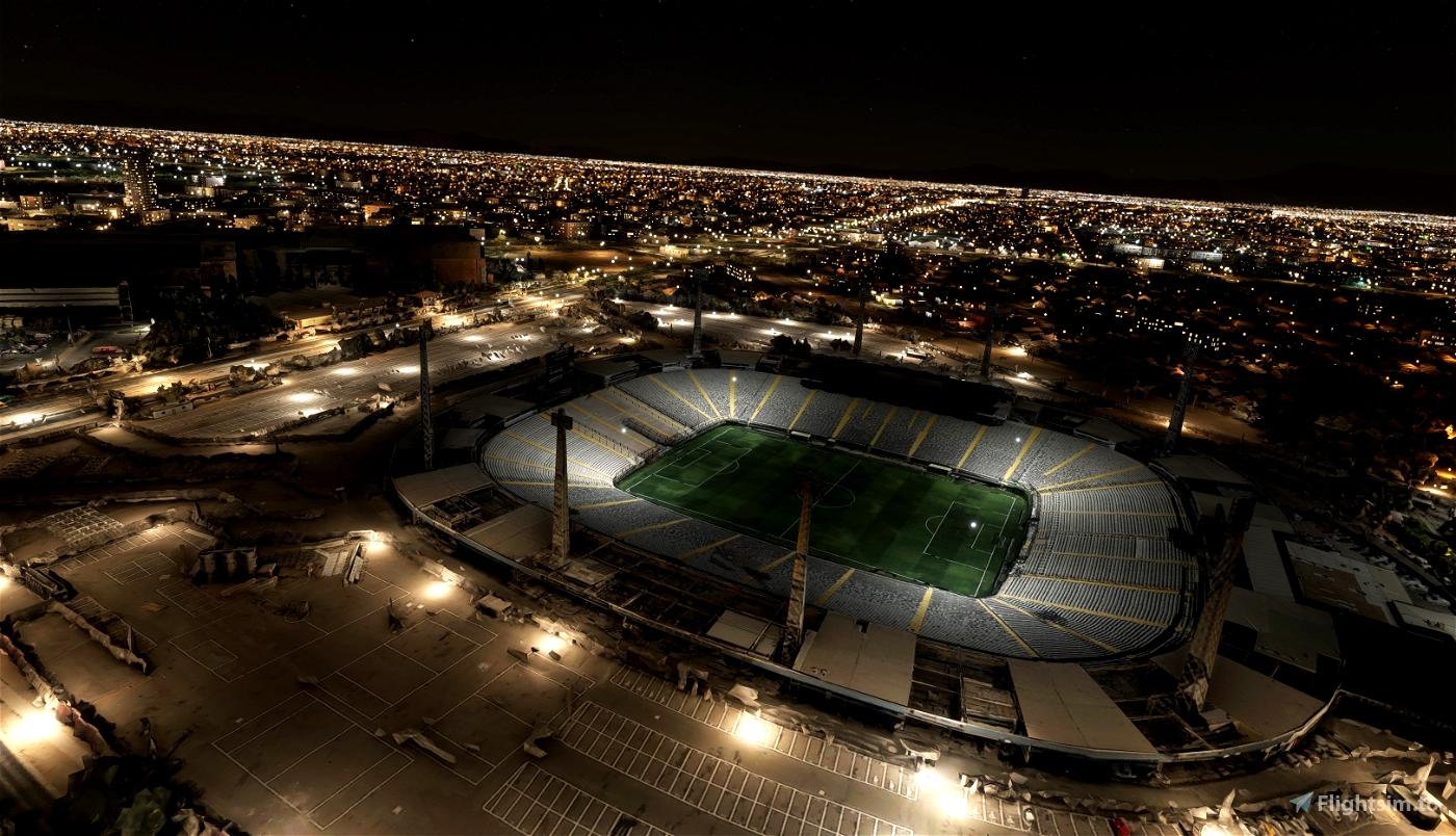 Estadio Monumental David Arellano - Santiago - Chile