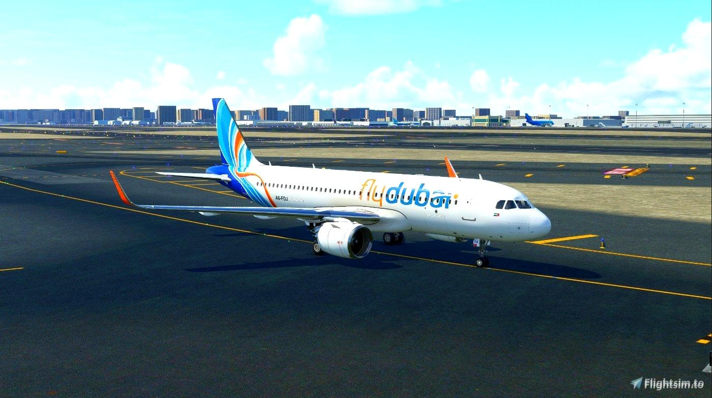 FlyDubai - FBW A32NX
