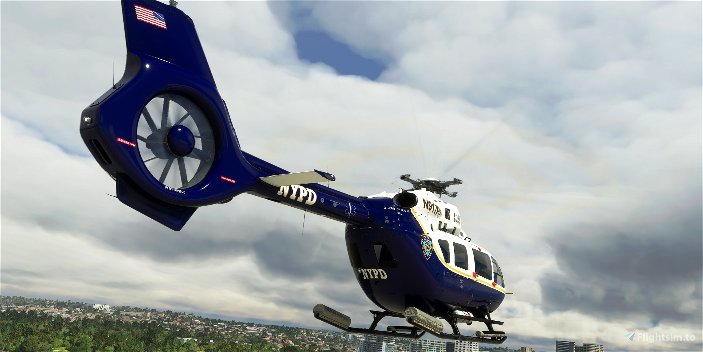 H145 New York Police Department Livery (Fictional)