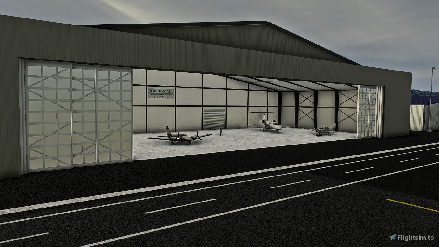 KMFR - Rogue Valley - Medford Airport