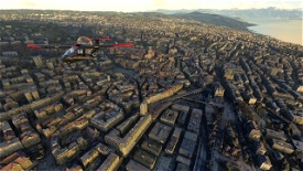 Lausanne Microsoft Flight Simulator