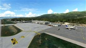 LGSK-Skiathos International Airport, Greece Microsoft Flight Simulator