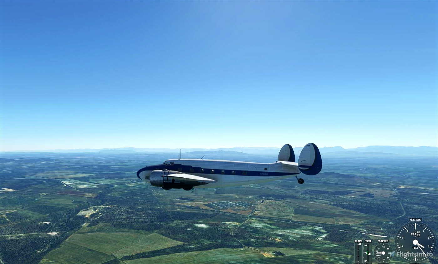 Lockheed L-18 Lodestar update Microsoft Flight Simulator